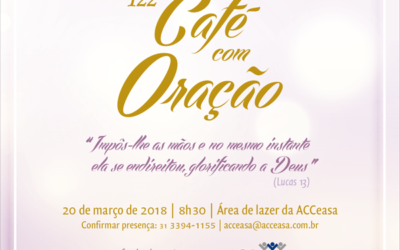 Evento: 122º Café com Oração