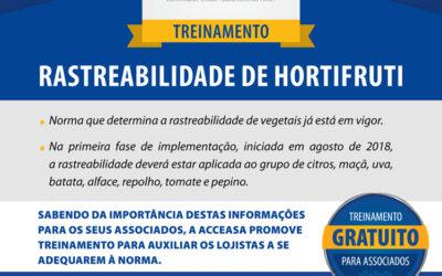 Treinamento Rastreabilidade de Hortifruti