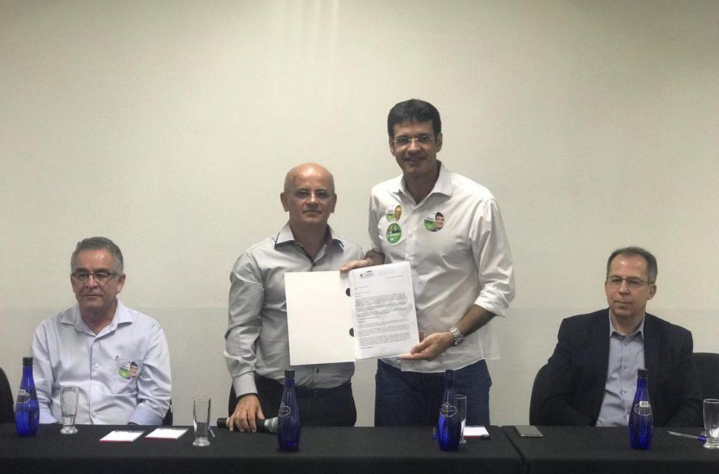 ACCeasa recebe Marcelo Álvaro Antônio, Candidato à Câmara Federal
