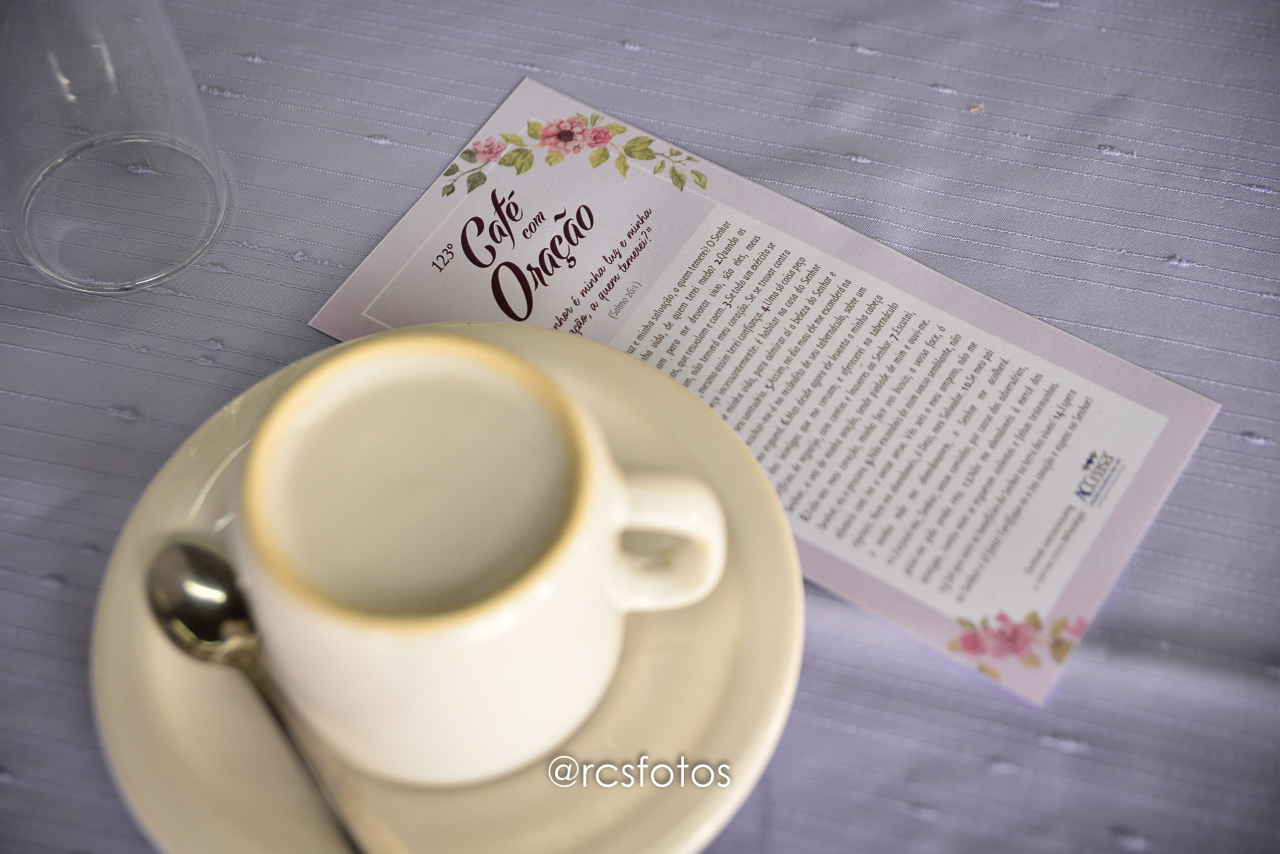 123ª edição do Café com Oração é marcada por agradecimentos e homenagens