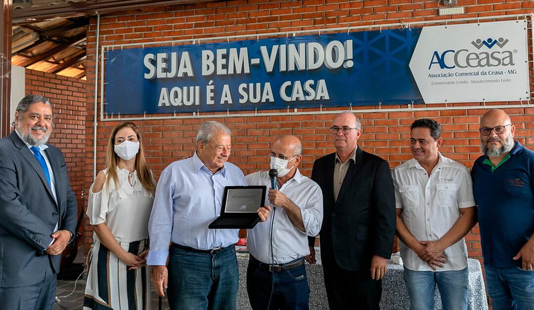 ACCeasa homenageia Alysson Paolinelli por indicação ao Nobel da Paz 2021
